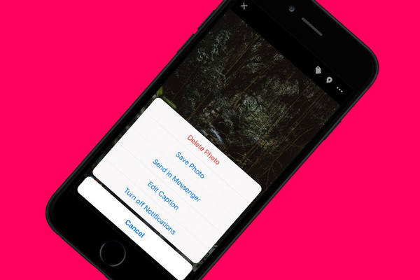 Cách tải tất cả ảnh từ Facebook, Messenger và iMessage về iPhone, iPad