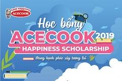 Học bổng Acecook Happiness Scholarship 2019: 4 năm, 'chắp cánh' hàng trăm ước mơ