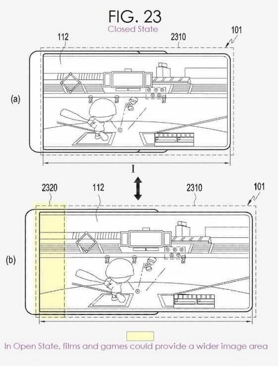 Samsung đang phát triển smartphone màn hình có thể kéo dài?