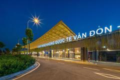 2019, sân bay quốc tế Vân Đồn 'bội thu' giải thưởng