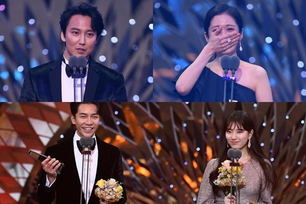 Jang Nara bật khóc, Lee Seung Gi - Suzy là cặp đôi đẹp nhất