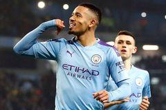 Man City đả bại Everton nhờ cú đúp của Gabriel Jesus