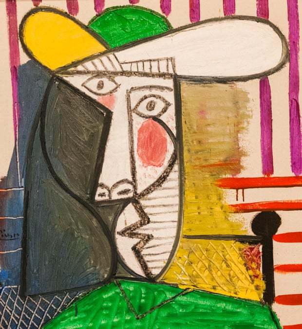 Bức họa bán thân của cô gái giá 615 tỷ đồng bị phá hoại khi trưng bày