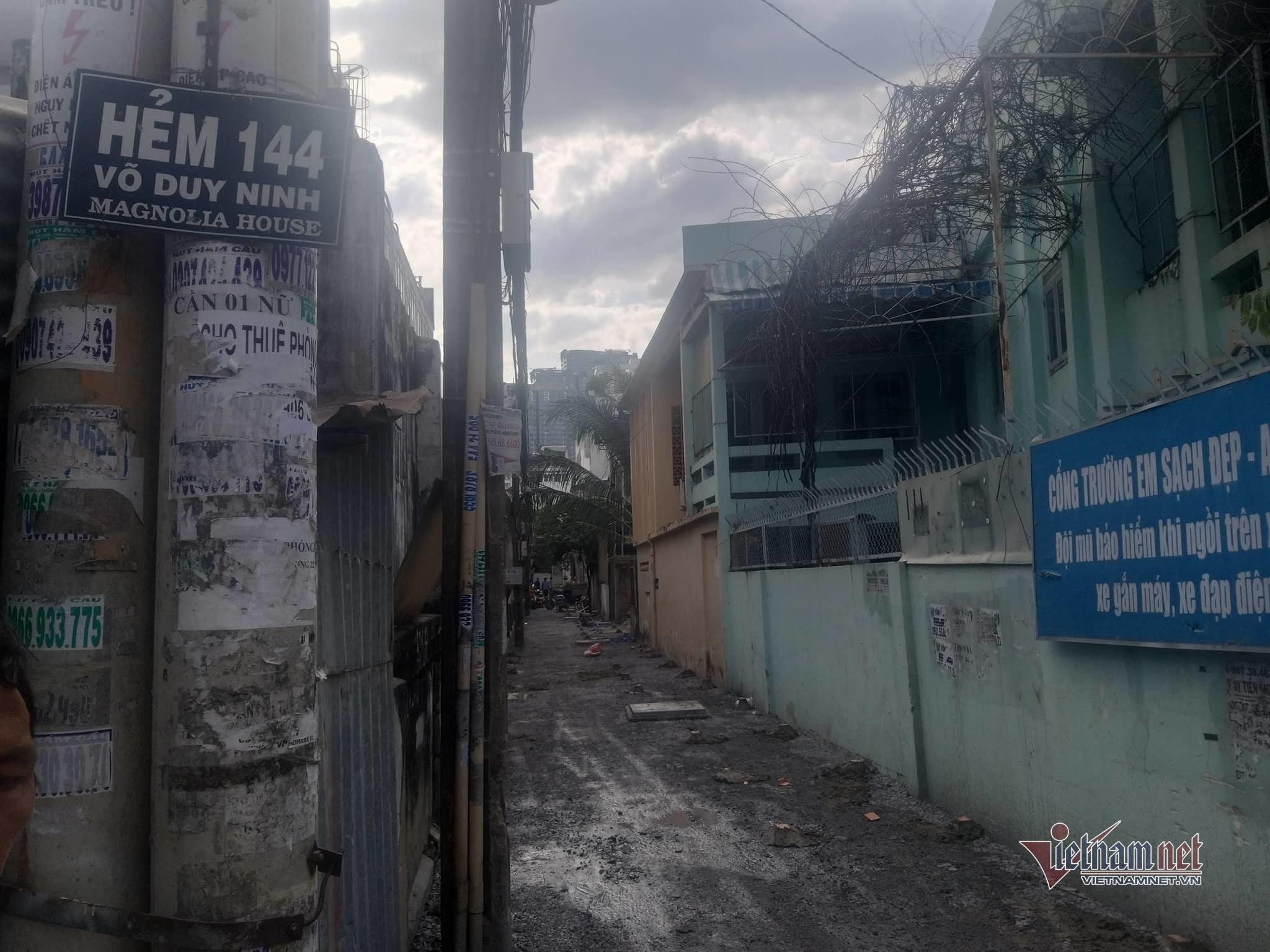 Nữ chủ hộ ở TP.HCM bị bêu tên vì không đóng 3 triệu làm đường