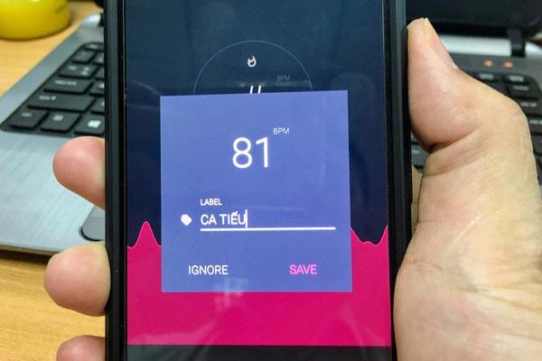 Cách đo nhịp tim bằng smartphone Android