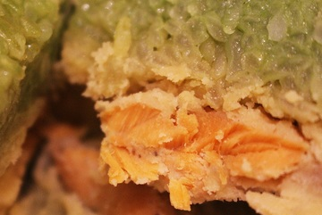Chung cakes with salmon stand out amid pork shortage