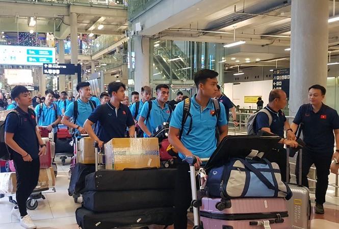 Vietnam arrives in Thailand for AFC U23 Championships