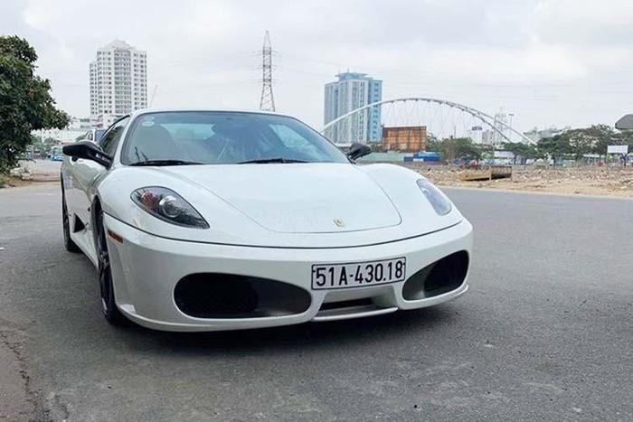 Siêu xe Ferrari F430 của ông chủ Trung Nguyên về tay đại gia Hải Phòng