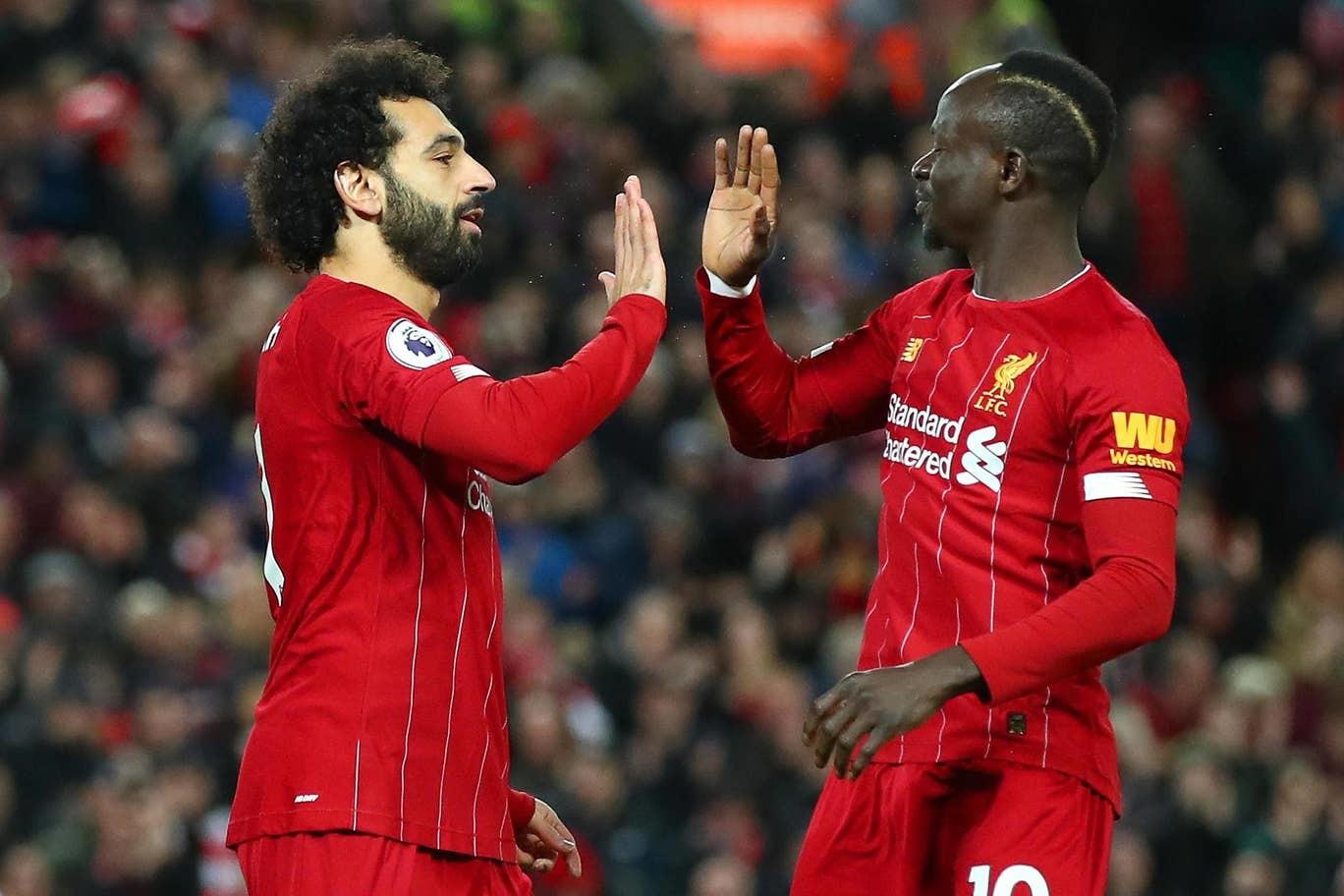 Salah và Mane 'nổ súng', Liverpool vô đối Ngoại hạng Anh