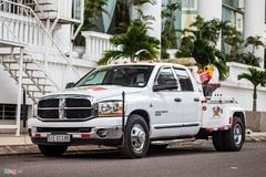 Bán tải 6 bánh làm xe cứu hộ tại TP.HCM
