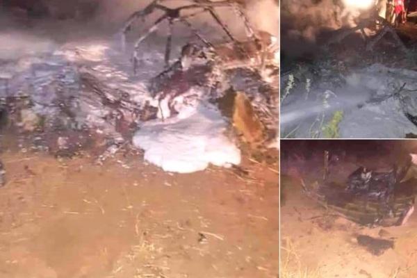 Máy bay gặp nạn thảm khốc ở Sudan