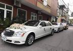 Đám cưới nhà giàu Quảng Ninh: Maybach, Rolls- Royce nối đuôi nhau đưa dâu