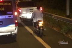 Cao tốc TP.HCM - Trung Lương cũng có hàng trăm xe máy 'đi lạc' vào
