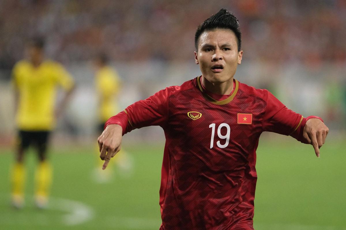 Quang Hải xếp 17 châu Á, Son Heung Min lập kỷ lục