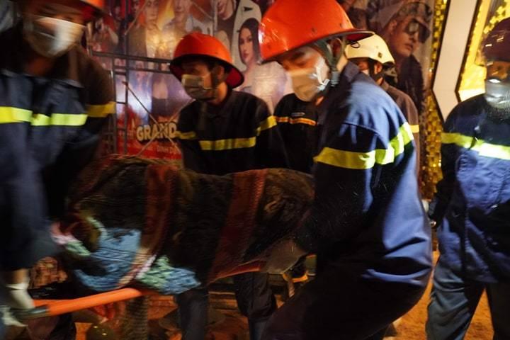 Sập công trình thi công vũ trường ở Bà Rịa - Vũng Tàu, vùi lấp nhiều người