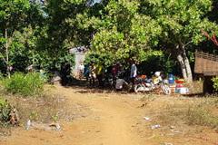 Vợ phát hiện xác chồng cháy đen trong vườn tiêu ở Bình Phước