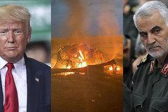 Cuộc hội ý 'nghẹt thở' trước khi ông Trump hạ lệnh giết tướng Iran