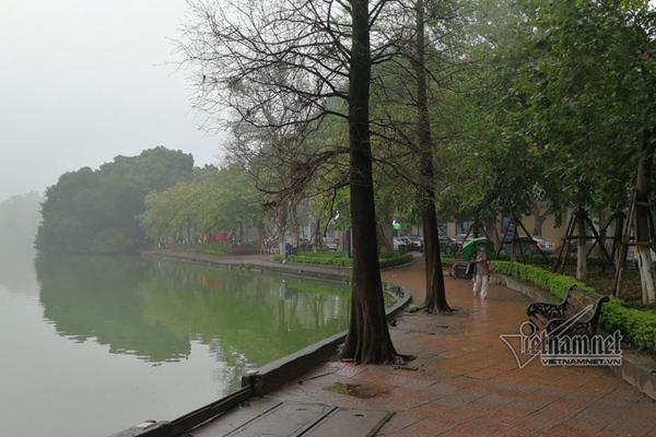 Dự báo thời tiết 6/1, Hà Nội mưa phùn rả rích