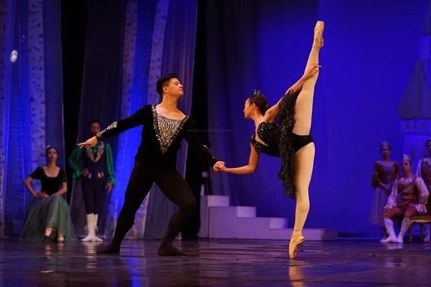 Vietnam National Opera and Ballet VNOB,Swan Lake,ecopark,ballet