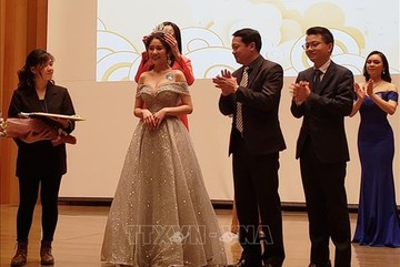 Vietnamese Youth and Student Association in Japan holds beauty contest