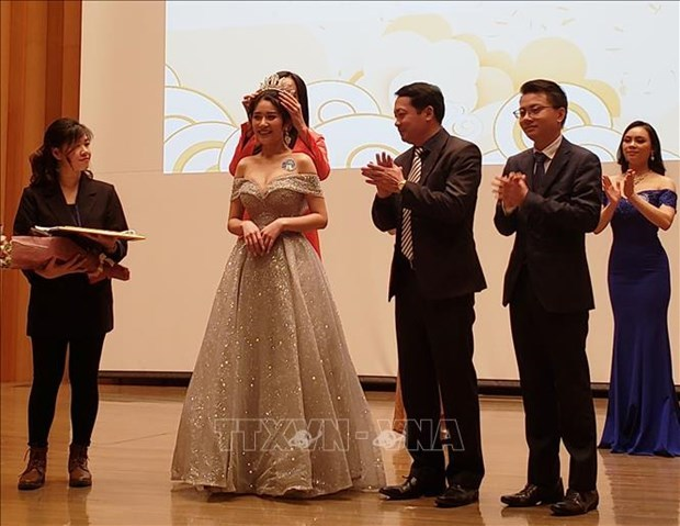 Vietnamese Youth and Student Association in Japan,beauty contest,New Year,overseas vietnamese