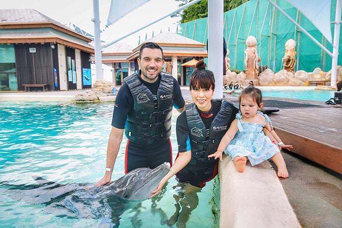 Hoa hậu Phạm Hương tiết lộ sở thích của con trai 1 tuổi mới công khai