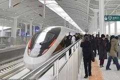 Tàu cao tốc thông minh của Trung Quốc tốc độ 350 km/h, lái tự động và tín hiệu 5G
