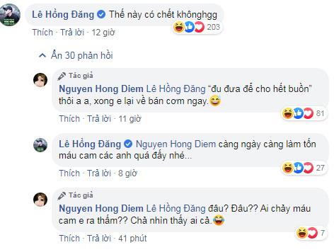 Phản ứng của Hồng Đăng khi Hồng Diễm đăng ảnh sexy