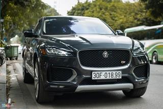 SUV hạng sang Jaguar F-Pace S độc nhất VN xuất hiện trên phố Hà Nội