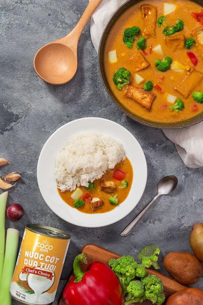 Ra mắt sản phẩm nước cốt dừa tươi đóng hộp dành cho đầu bếp Việt