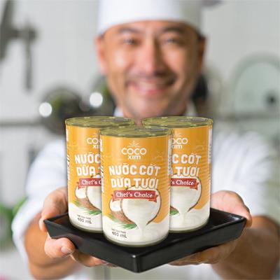 đầu bếp,nước cốt dừa
