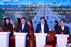 Khởi công đường 402 tỷ nối vành đai 3 với cao tốc Hà Nội-Hải Phòng
