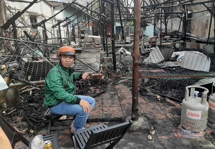 Hỏa hoạn thiêu trụi quán thịt chó, cả gia đình thoát chết trong gang tấc