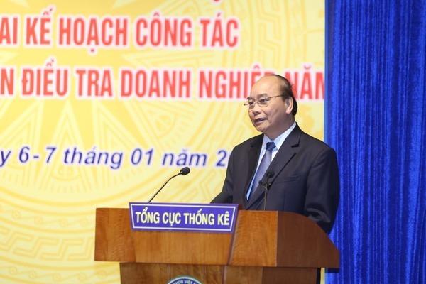 Tổng cục Thống kê,Thủ tướng Nguyễn Xuân Phúc,thống kê,đánh giá lại GDP