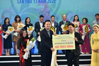Natrumax góp 500 triệu đồng cho Quỹ bảo trợ trẻ em Việt Nam