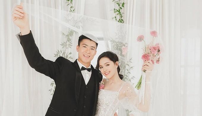 Nhìn lại chặng đường yêu của cầu thủ Duy Mạnh và vợ sắp cưới