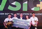 Vietnamese students produce batteries from rice husks