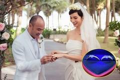 Xuân Lan khoe cận cảnh nhẫn kim cương trong lễ cưới ở tuổi 42
