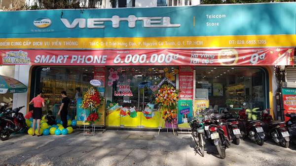 Viettel Store giảm smartphone đến 6 triệu đồng dịp khai trương 3 siêu thị mới