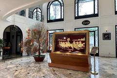 Tranh nghệ thuật vàng Prima Art - điểm nhấn ấn tượng cho ngôi nhà