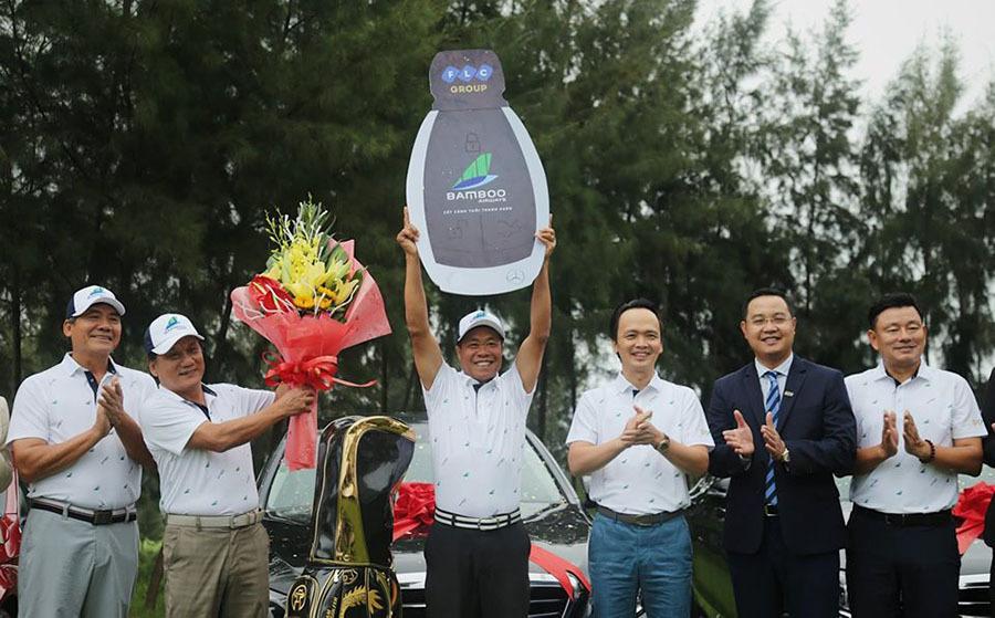 Bầu Quyết lại công bố giải golf có giải thưởng khủng