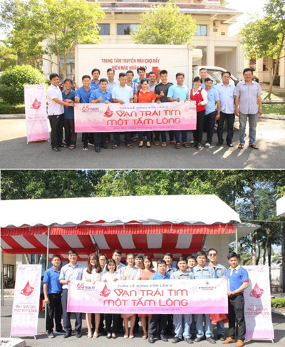 Đông đảo nhân viên EVNGENCO 3 tham gia hiến máu nhân đạo