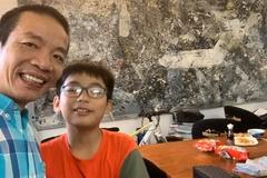 """Ông bố Hà Nội viết thư chúc con trai lớp 6 """"yêu giỏi"""""""