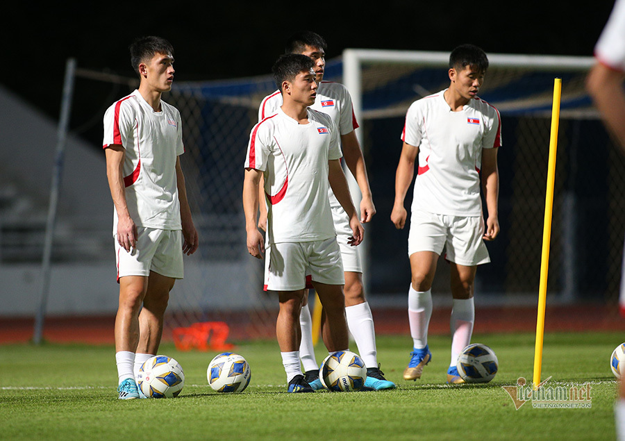 U23 Triều Tiên đầy bí ẩn trên đất Thái Lan