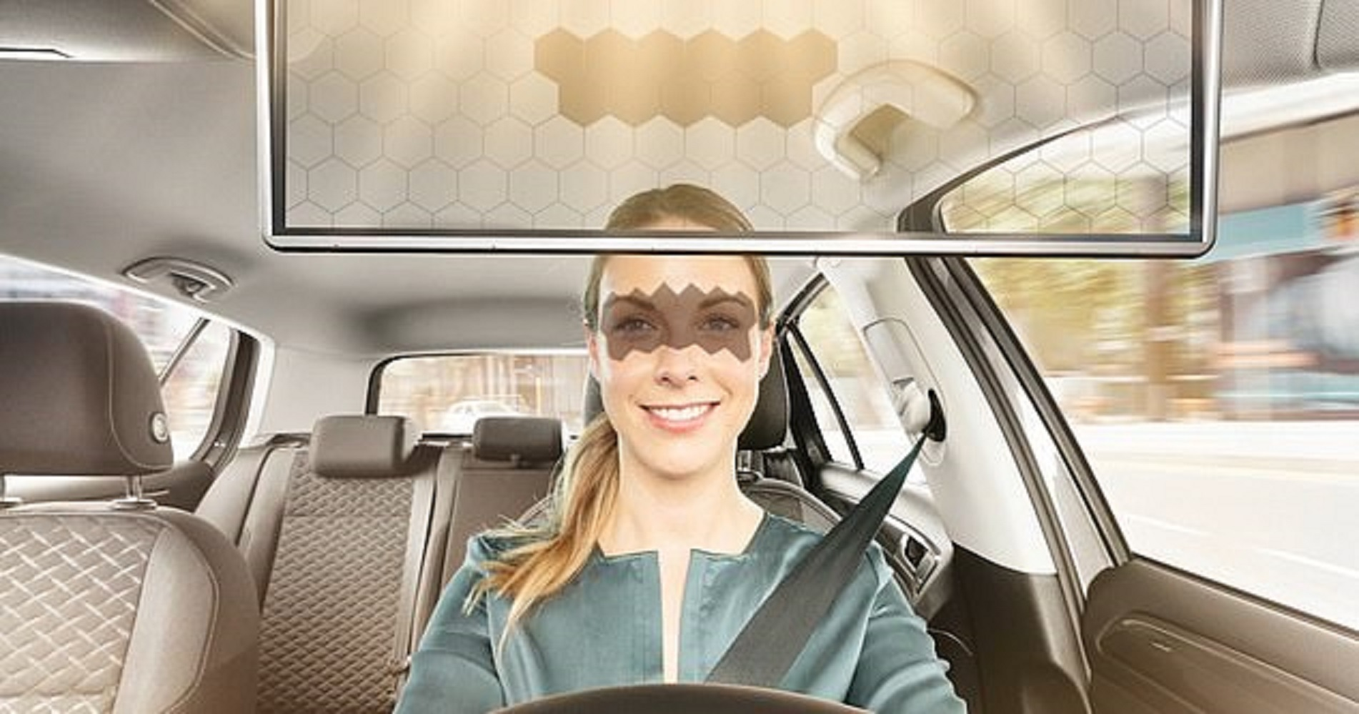 Tấm che nắng ô tô tự động tích hợp trí tuệ  nhân tạo AI
