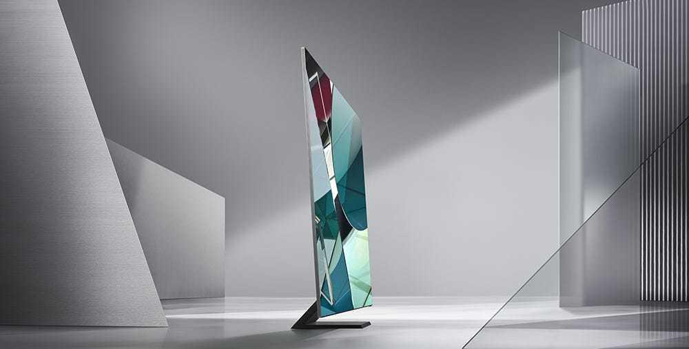 Samsung ra mắt TV 8K tràn viền tại CES 2020