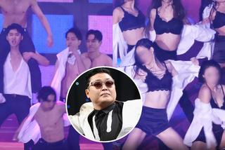 Đêm nhạc của PSY gây tranh cãi vì vũ công nhảy múa gợi dục