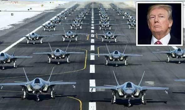 Mỹ triển khai liên tiếp hàng chục chiến đấu cơ F-35