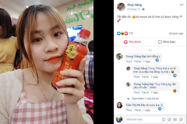 Cộng đồng mạng rần rần bắt trend 'mượn trà tỏ tình' ngày Tết