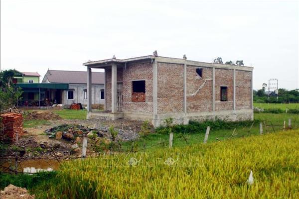 Xử phạt khi xây nhà kiên cố trên đất nông nghiệp